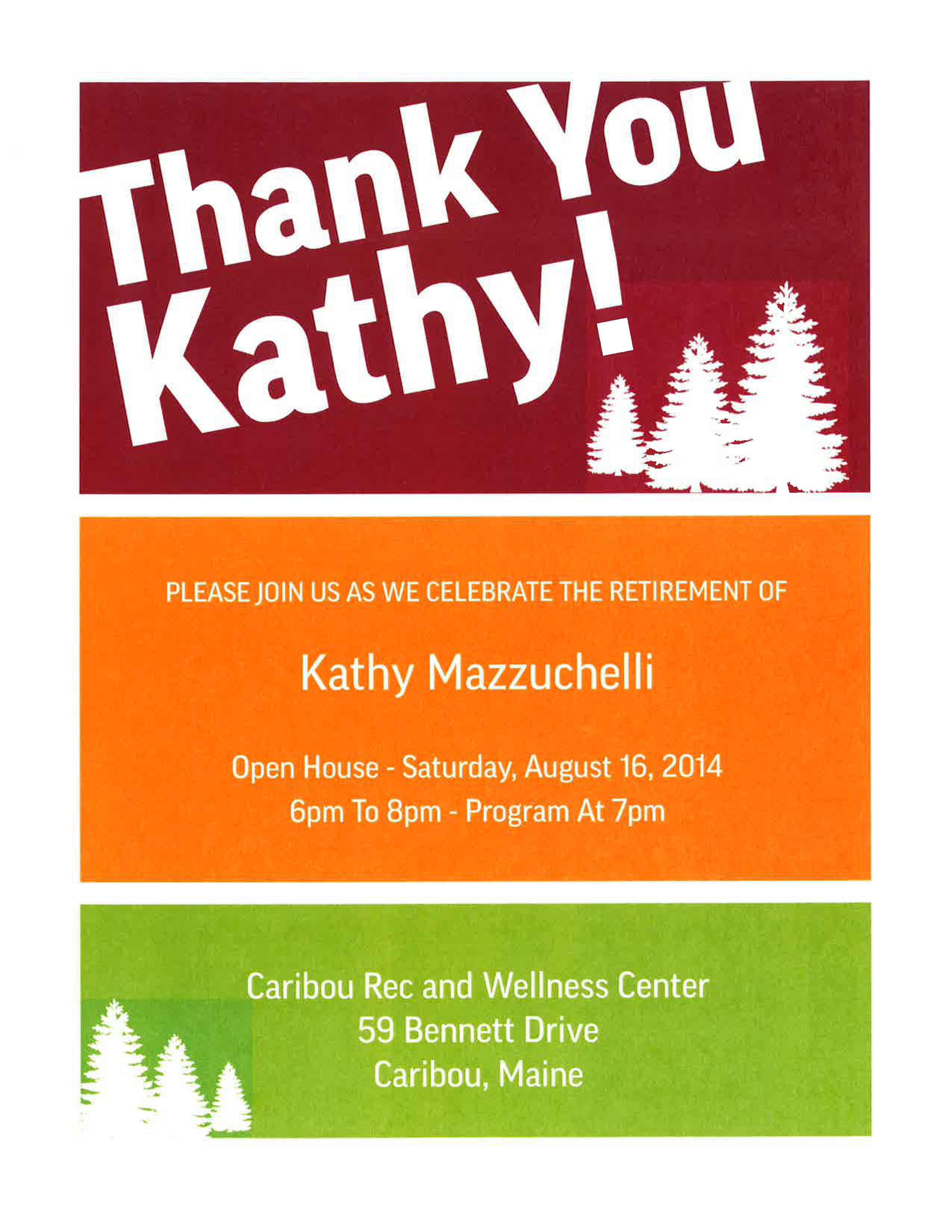 Kathy Retirement