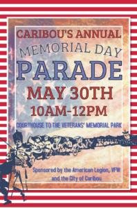 Caribou Memorial Day Parade